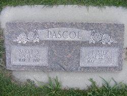 Sarah <I>Speirs</I> Pascoe