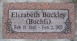 Elizabeth (Buchli) Buckley
