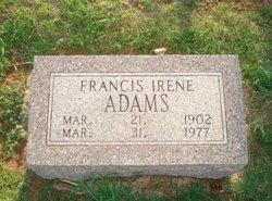 Francis Irene Adams