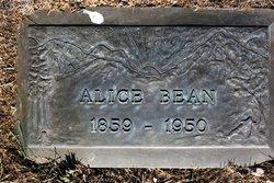 Alice <I>Fouts</I> Bean
