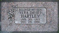 Vera <I>Davies</I> Hartley