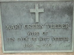 "Mary ""Mollie"" <I>Green</I> Veeder"