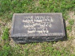 Ann Tamrus <I>Leonard</I> Ambler