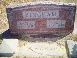 Mary Frances <I>Smith</I> Bingham