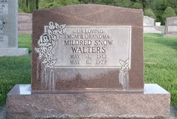 Mildred <I>Snow</I> Walters