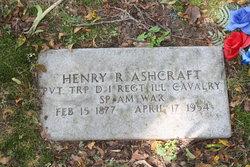 Henry R Ashcraft