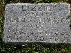 "Andrea Elizabeth ""Lizzie"" <I>Knutson</I> Johnson"