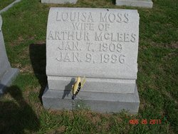 Louisa <I>Moss</I> McLees
