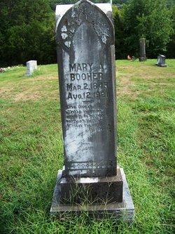 Mary Ann <I>Shinn</I> Booher