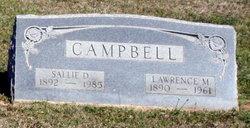 Sallie D Campbell