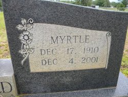 Myrtle Thelma <I>Griffin</I> Sheffield