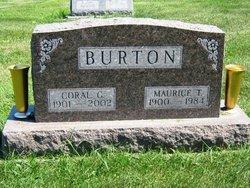 Coral Gertrude <I>Butler</I> Burton