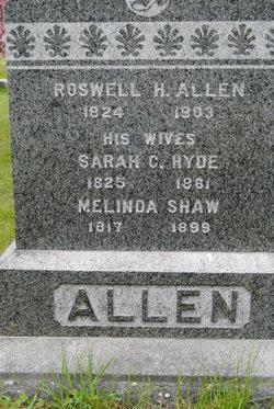 Melinda <I>Shaw</I> Allen