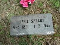 """Eliza """"Lizzie"""" <I>Neugin</I> Spears"""