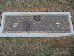Cleo M <I>Welch</I> Greeson
