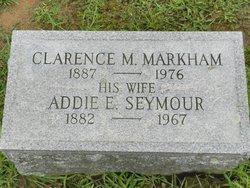 Addie E <I>Seymour</I> Markham