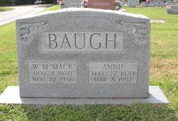 "W M ""Mack"" Baugh"