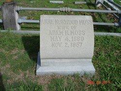 Anne <I>Norwood</I> Moss