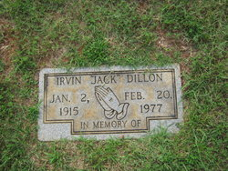 "Irvin ""Jack"" Dillon"