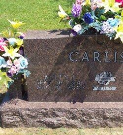 Betty F. <I>Jones</I> Carlisle