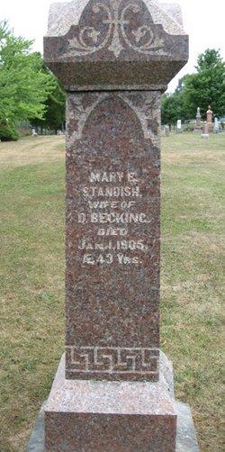 Mary E. <I>Standish</I> Becking