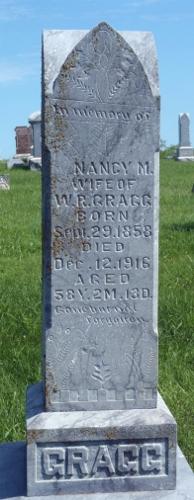 Nancy Margaret <I>Snodgrass</I> Gragg