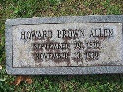 Howard Brown Allen