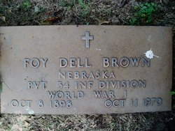 Foy Dell Brown