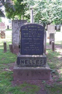 James Willison Grout Nelles