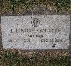 Lillian LeNore <I>Henderson</I> Van Dyke