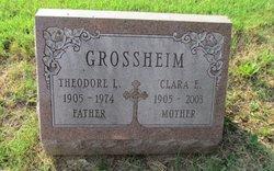 Clara E <I>Ludwig</I> Grossheim