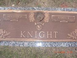 "Judith Elaine ""Judy"" Knight"