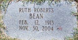 Ruth Alice <I>Roberts</I> Bean