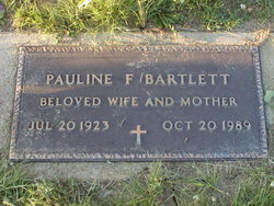 Pauline <I>Fields</I> Bartlett