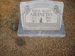 Katie <I>Allen</I> Abernethy
