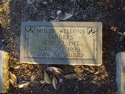 Molly <I>Wellons</I> Sanders