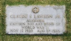 Capt Claude S Lawson, Jr