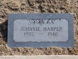 """John Alexander """"Johnnie"""" Harper"""
