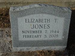 Elizabeth Jean <I>Tackett</I> Jones