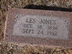 """Leslie Lafayette """"Les"""" Jones"""