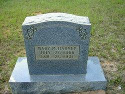 Mary Matilda <I>Magee</I> Harvey