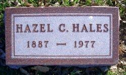 Hazel C <I>Osborn</I> Hales