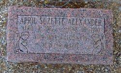 April Suzette Alexander
