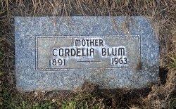 Cordelia <I>Mattson</I> Blum