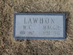 "Margreret ""Maggie"" <I>Lindley</I> Lawhon"