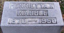 Henrietta Frances Marble