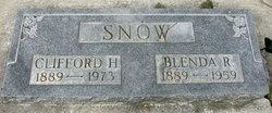 Clifford H Snow