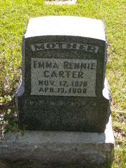 Emma <I>Rennie</I> Carter