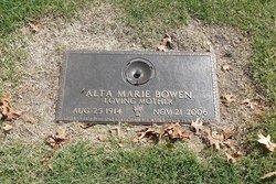Alta Marie Bowen