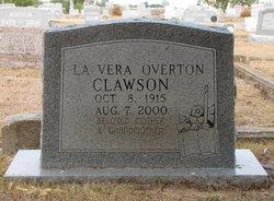 Mary Lavera <I>Overton</I> Clawson